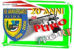Annullo 20 anni di Puro Sport