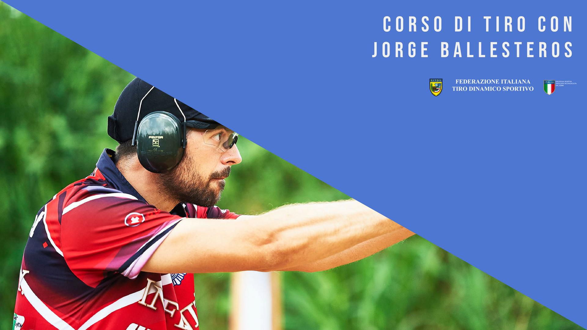 Corso di tiro con il campione del mondo Jorge Ballesteros