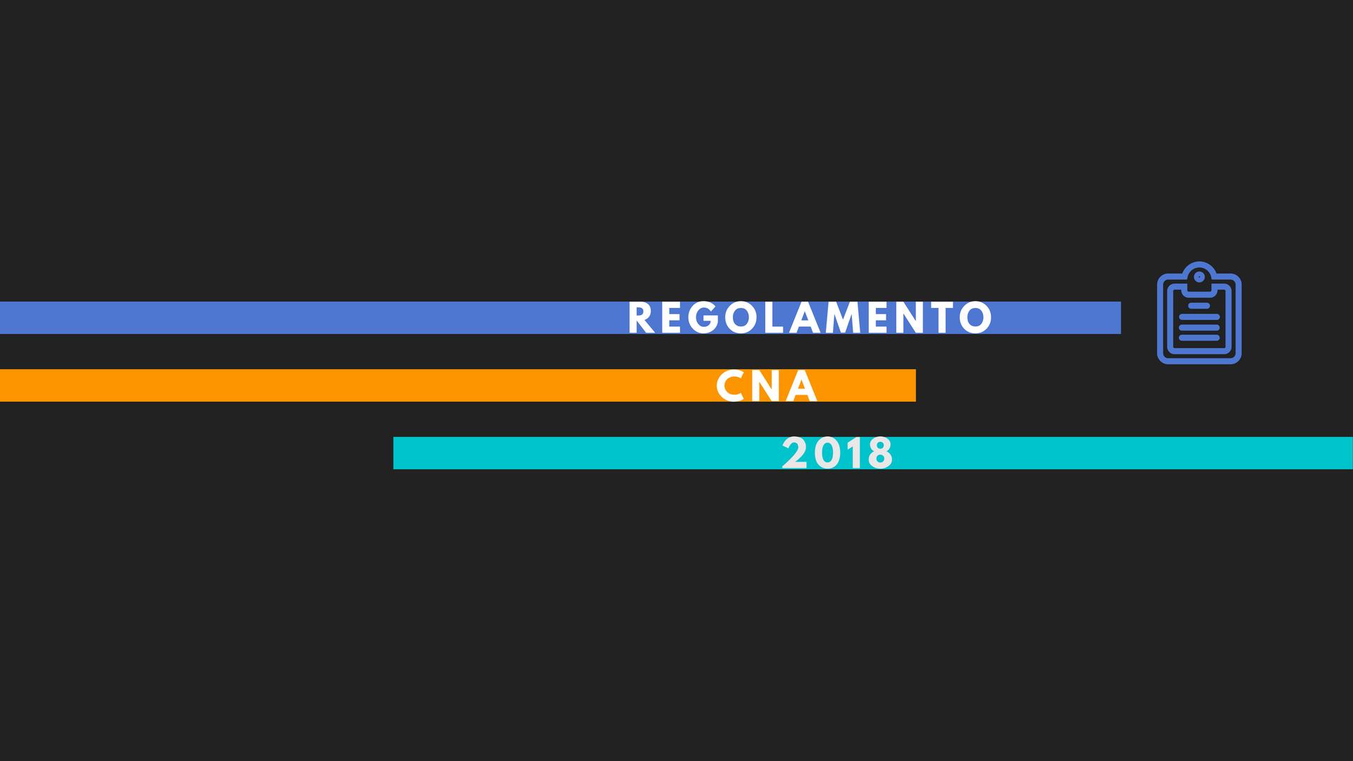 FITDS | Regolamento CNA 2018