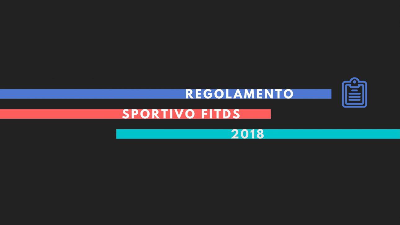 FITDS | Regolamento FITDS 2018